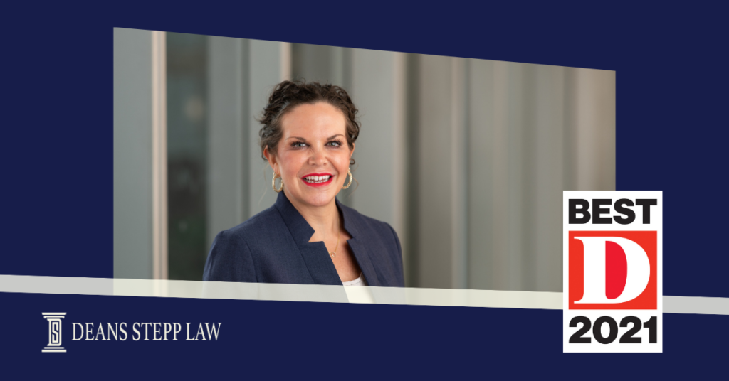 Katherine Stepp Named Among Dallas' Best Lawyers by D Magazine
